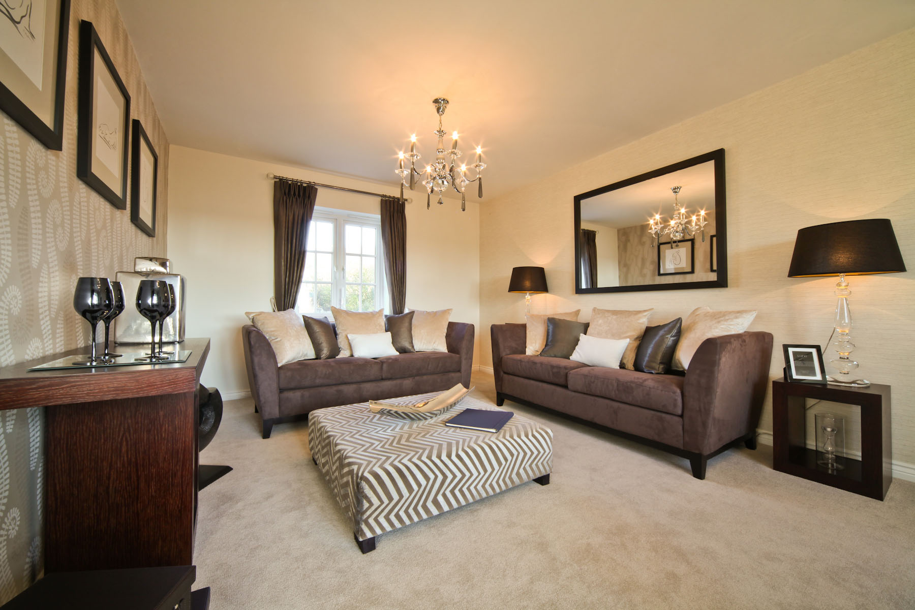 Taylor Wimpey typical living room 2
